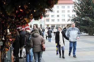 Na ostravském Masarykově náměstí začaly vánoční trhy