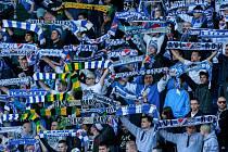 Baník Ostrava i díky velké podpoře svých fanoušků vyhrál sobotní zápas 25. kola na půdě Viktorie Žižkov