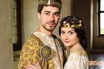 PATRIK DĚRGEL s Evou Josefíkovou v pohádce Korunní princ.
