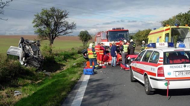 Nehoda nedaleko Úvalna na Opavsku