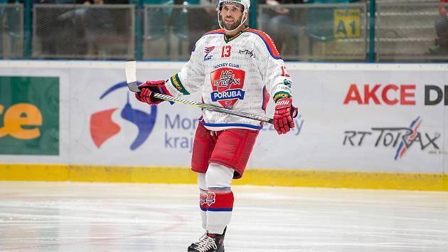 Chance liga: Poruba – Havířov, 11. zaří 2019 v Ostravě. Na snímku Vladimír Svačina.