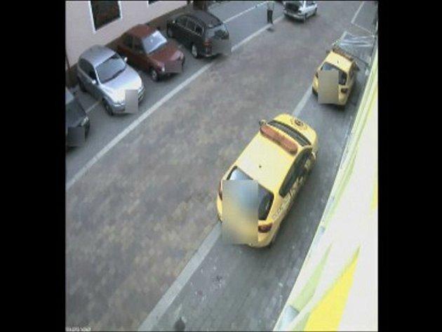Snímek z policejního videa