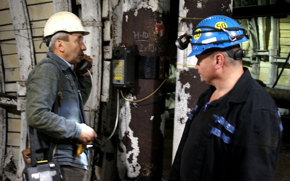 Poslední horníci fárající i po pětadvaceti letech od konce těžby uhlí v Ostravě jsou na Jeremenku.