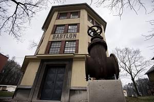 Babylon, vodárenská expozice v srdci Ostravy (v areálu Úpravny vody Ostrava-Nová Ves), březen 2019.