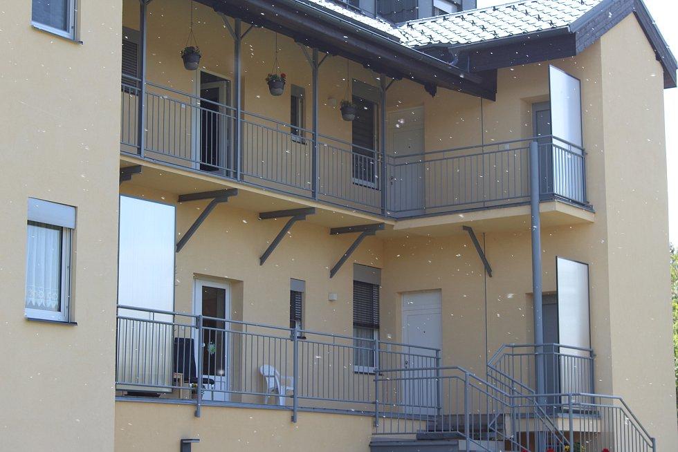 Pavlačový dům v Bartolomějské ulici.