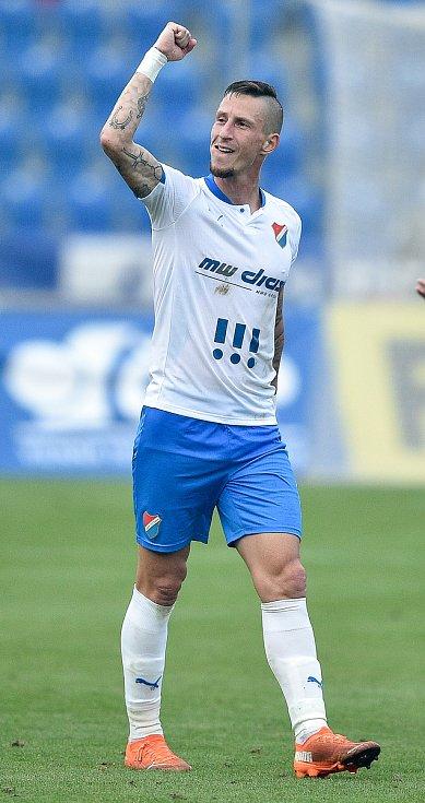 Utkání 4. kola první fotbalové ligy: FC Baník Ostrava - FK Pardubice, 19. září 2020 v Ostravě. Martin Fillo z Ostravy.