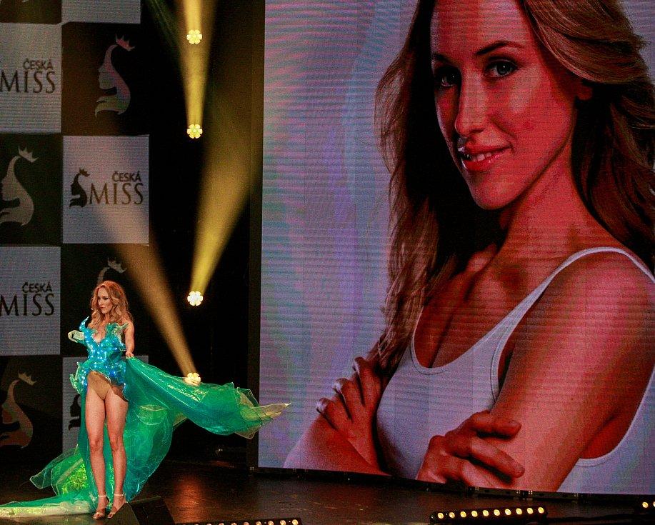 Vyhlášení české Miss 2018 v Gongu.Tereza Havlová