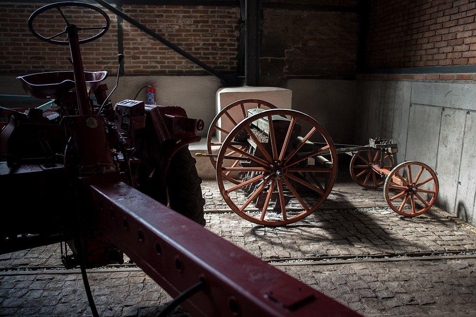 Pobočka Národního zemědělského muzea před otevřením, 11. června 2020 v Ostravě.