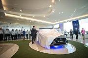 Oslavy 10. výročí zahájení sériové výroby automobilky Hyundai, 2. listopadu 2018 v Nošovicích. Na snímku Hyundai i30 Fastback N.