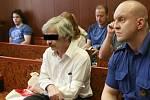 Jiří L. (na snímku z jednání u Krajského soudu v Ostravě v roce 2016) byl za pokus o vraždu jateční pistolí odsouzen k osmnácti rokům vězení.