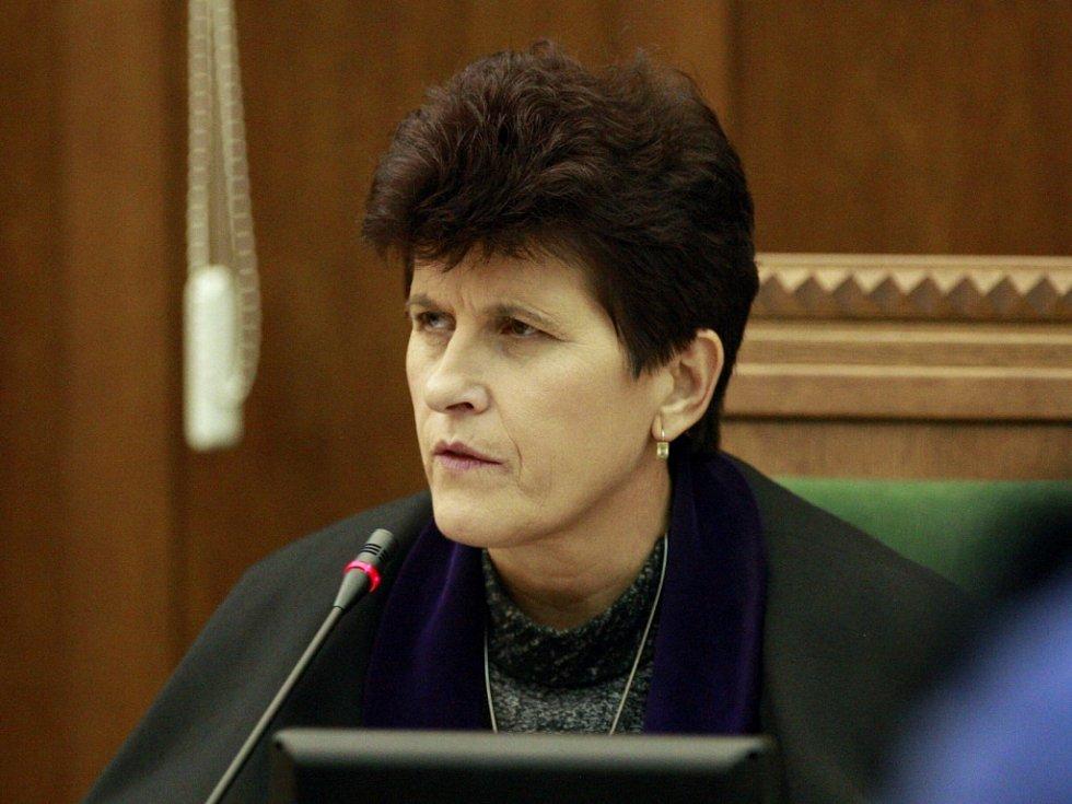 Předsedkyně senátu Krajského soudu v Ostravě Renata Gilová.