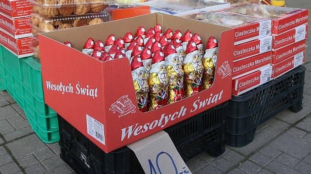 Češi tvoří na polských příhraničních tržnicích až pětadevadesát procent ze všech kupujících.