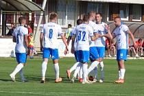 Fotbalisté Baníku Ostrava porazili ve středu slovenskou Skalicu 2:1.