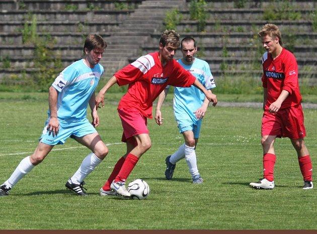 Ilustrační foto ze zápasu Ostrava-Jih vs. Staré Město