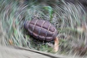 Válečné granáty skrývalo pole u Věcova na Žďársku. Ilustrační foto