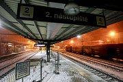 Hlavním nádraží v Ostravě.
