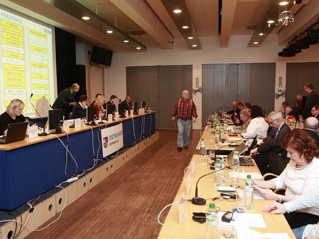 Zasedání zastupitelstva nejlidnatějšího ostravského obvodu Jih.