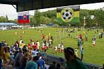 Pátý ročník turnaje O pohár starosty Petřkovic hostil třiapadesát týmů nejen z České republiky, ale i ze Slovenska a Polska.