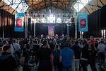 Ostravský festival Kompot, 19. května v Ostravě. Na snímku Hana Zagorová.