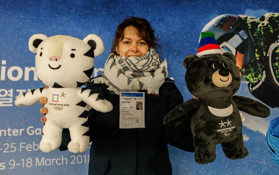 Olympijský festival u Ostravar Arény, neděle 18. února 2018 v Ostravě