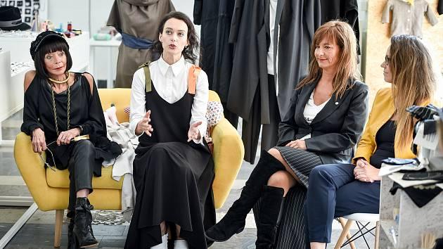 Tisková konference v Ostravě před konáním Fashion Storm, který proběhne dne 18. října v Opavském kostele sv. Václava.