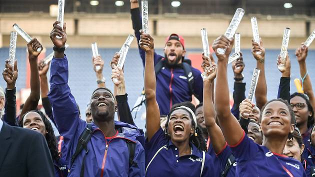 Kontinentální pohár 9. září 2018 v Ostravě vyhrál tým Ameriky.