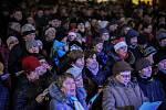 Česko zpívá koledy, Ostrava, Masarykovo náměstí, 12. prosince 2018