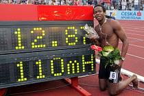 Dyron Robles po rekordním běhu na Zlaté tretře