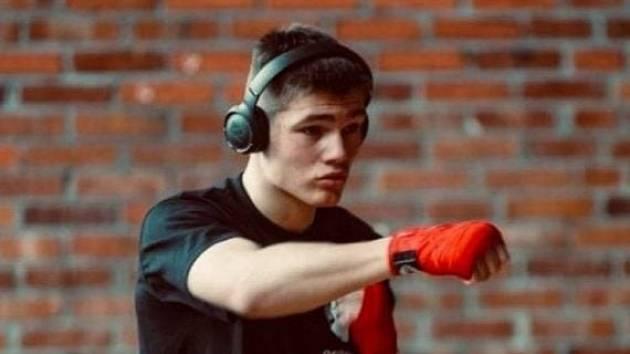 Ostravský boxer Erik Suchý.