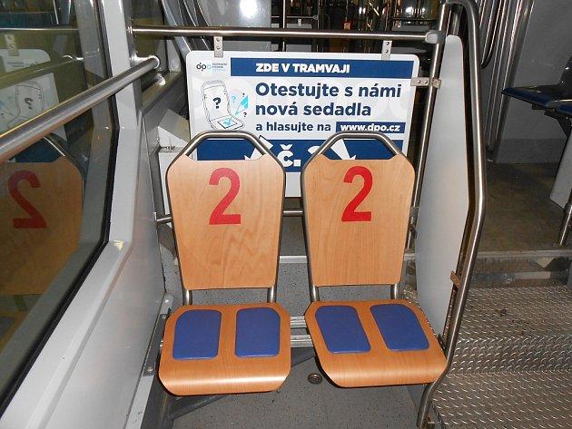 Dopravní podnik Ostrava testuje nová sedadla