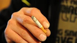 Kouření babičky