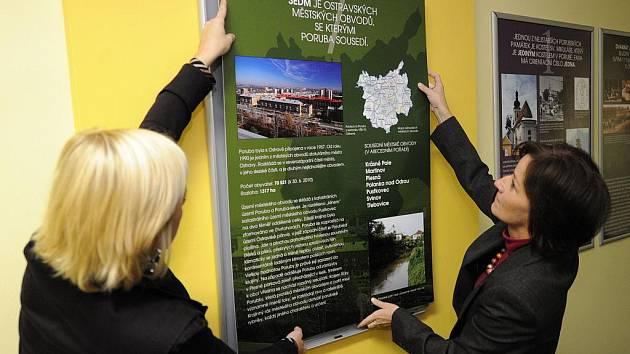 Stálou expozici, která dokumentuje historii a rozvoj Poruby, představili v úterý veřejnosti zástupci městského obvodu.