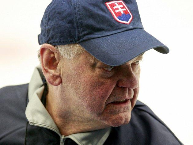 Trenér slovenských hokejistů Vladimír Vůjtek.