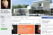 Úvodní stránka facebookového profilu skupiny.