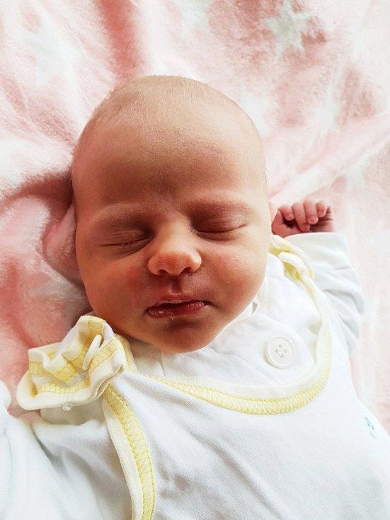 Eliška Kriegischová, Opava, narozena 29. dubna 2021 v Opavě, míra 49 cm, váha 3480 g. Foto: Lucie Dlabolová
