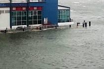 NEW YORK po řádění bouře Sandy.