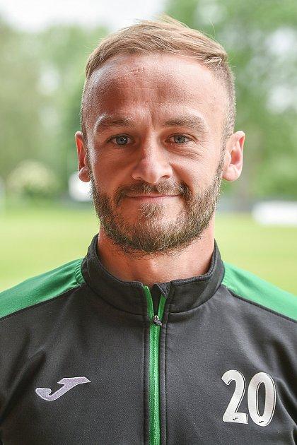 Martin Václavík, záložník.