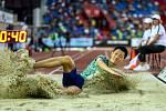 Atletický mítink IAAF World Challenge Zlatá tretra v Ostravě 20. června 2019. Na snímku Wang Jianan z (CHN).