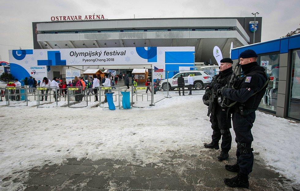 Ostravar Aréna, olympijský festival. Ilustrační foto.