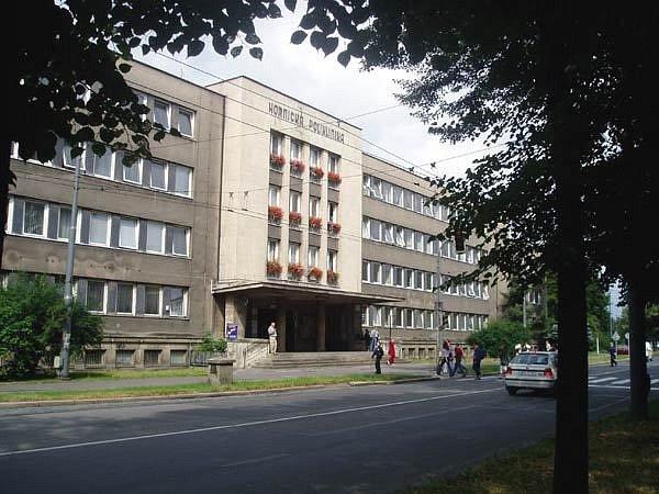Budova Hornické polikliniky v Ostravě