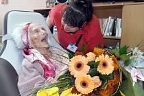 Marie Filipská patří mezi tři nejstarší obyvatele Ostravy.  V sobotu 1. října oslavila 105. narozeniny.