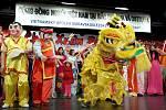 Ostravská vietnamská komunita příchod roku ohnivého kohouta oslavila v kulturním domě K-trio v Hrabůvce.