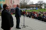 Poslední den své návštěvy Moravskoslezského kraje strávil Miloš Zeman také v Kopřivnici a v automobilce Tatra Trucks.