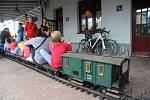 Prvorepublikové odpoledne v Železničním muzeu moravskoslezském, které sídlí na vlakovém nádraží Ostrava-střed.