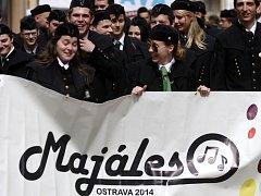 Studentský Majáles v Ostravě.