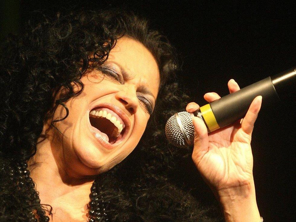 Koncert Lucie Bílé v Ostravě.