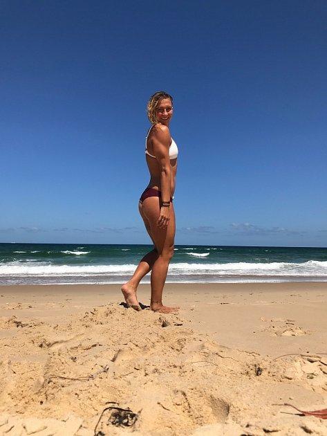 Nejlepší česká plavkyně Barbora Závadová.