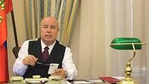 Honorární ruský konzul Aleš Zedník z ruského konzulátu v Ostravě.