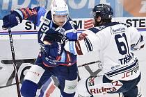 Na snímku (zleva) Jan Hruška a Peter Trška. Ilustrační foto.