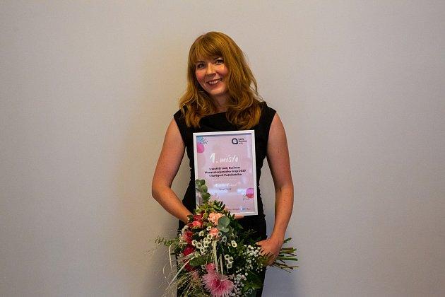 Vítězka vkategorii Podnikatelka Markéta Ubíková